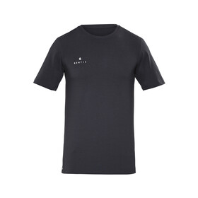 Gentic New School Kortærmet T-shirt Herrer sort